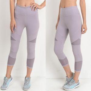 JILLIAN Workout Leggings - LAVENDER